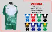 Футболен екип ZEBRA
