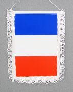 Флагче Франция - размер A4, твърдо