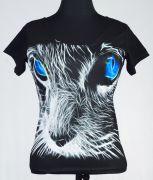 JEAN  Дамска Фланелка Blue Cat
