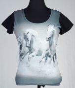 JEAN  Дамска Фланелка White Horses