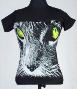 JEAN  Дамска Фланелка Green Cat